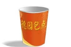 豆浆纸杯(效果图)图片