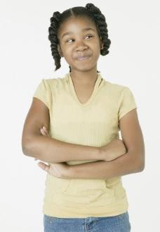 黑人小女孩图片
