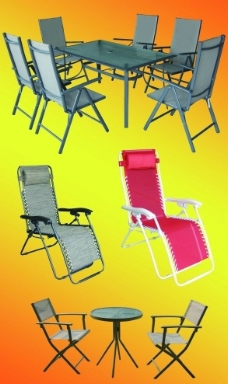 度假休闲桌椅图片