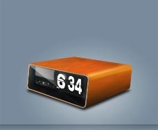 台式钟表闹钟图片