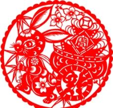 兔年剪纸图片
