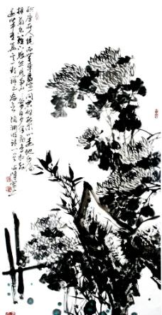 秋菊图图片