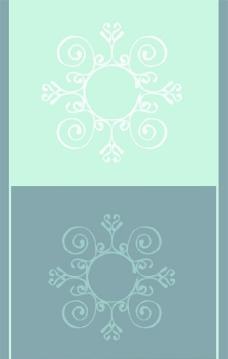 欧式花纹花朵边框装饰图片