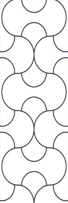 矢量线条花纹图片