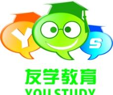 友学教育标志图片