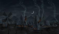 vladstudio月亮主题图片