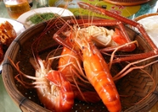清蒸大虾图片
