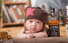 婴儿艺术摄影图片