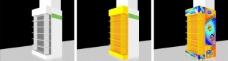 包柱效果图图片