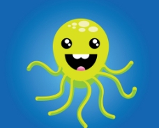 章鱼矢量图图片