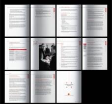 企业画册版式 (合层)图片