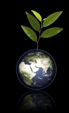 低碳环保地球