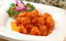 菠萝虾球图片