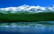 新疆冬景图片