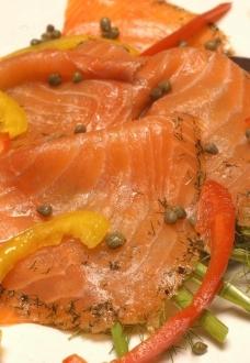 三文鱼片图片