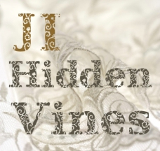 JI Hidden Vines花纹字体