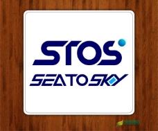 STOS服饰商标设计