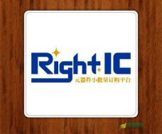 RIGHTIC标志设计