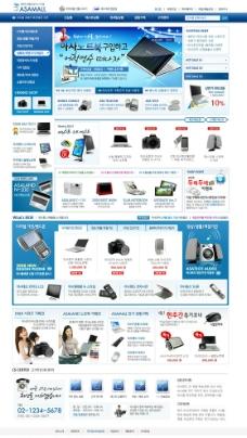 韩国网上商城首页图片