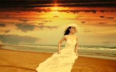 爱琴海的新娘图片