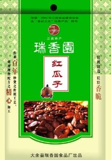 瑞香园 红瓜子包装设计图片
