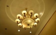 酒店圆灯图片