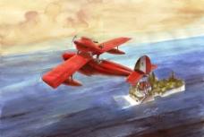 亚得里亚海的红猪图片
