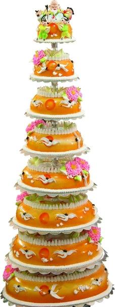蛋糕图片,蝴蝶 花瓣 蜡烛 浪漫 惊喜 生日蛋糕 庆祝