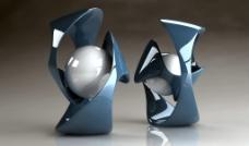 3D静物图片