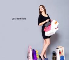美女购物高清图片