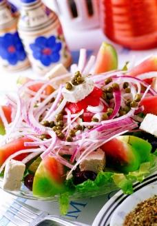 時鮮生菜沙拉图片