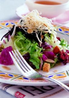 時蔬生菜沙拉图片