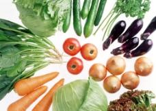 新鲜的蔬菜瓜果图片
