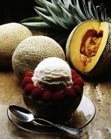 水果冰激凌图片