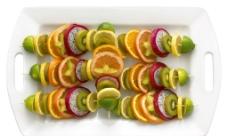 西式水果烤串图片