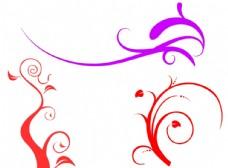 装饰小花纹笔刷
