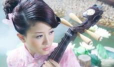 琵琶美女图片