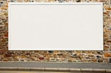 路边广告效果展示图片