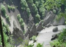 长白山大峡谷奇石图片