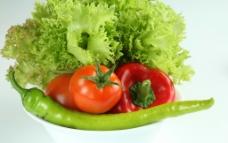 西红柿 蕃茄 辣椒图片