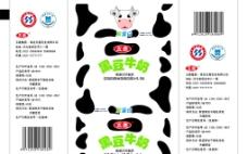 黑牛豆奶图片