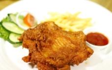 西餐美食 美式麦香鸡扒图片