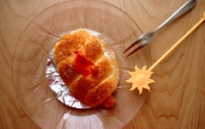 果汁面包图片