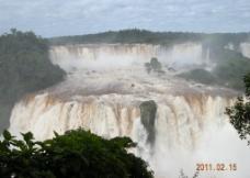 巴西伊瓜苏大瀑布图片