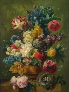 花瓶里的花图片