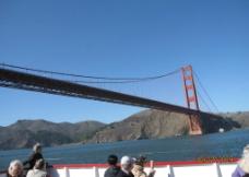穿越旧金山大桥图片