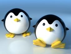桌面QQ企鹅图片