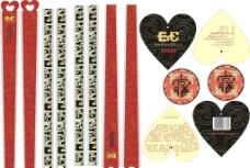 筷子包装及吊牌图片