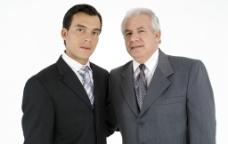 合作成功的商务人物图片