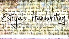 签名效果英文字体